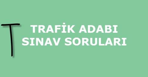 trafik adabi testi