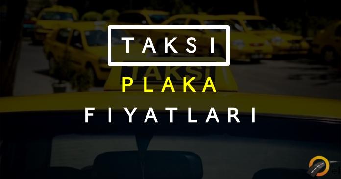 2018 Ticari Taksi Plakası Fiyatları Ne Kadar?
