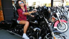 Antalya'da Harley Davidson Rüzgarı