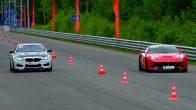 Alman Hız Makinası BMW M4 İtalyan Canavarı Ferrari F12'ye Karşı