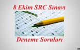 8 Ekim 2016 SRC Sınavı soruları ve cevapları
