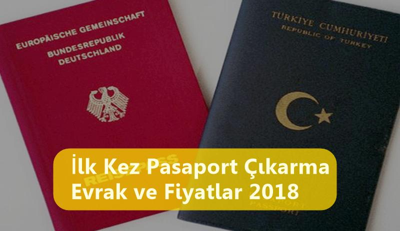 İlk Kez Pasaport Çıkarma Nasıl Yapılır? Evrak ve Fiyatlar 2018